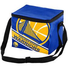 NBA Golden State Warriors Big Logo Stripe 12 pack Cooler Lunch Box Insulated