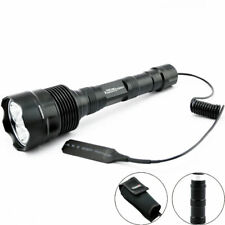 Trustfire Tactical Flashlight 3800LM 3* CREE XML2 LED 18650 1-Mode Torch Holster