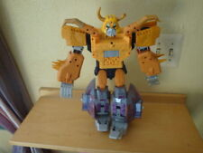 TRANSFORMERS ARMADA UNICRON 2003  HASBRO TAKARA INCOMPLETE EYES / HAND LIGHT UP