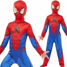 Boys Spiderman Fancy Dress Costume Superhero Child Outfit