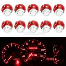 10 x Red T3 Neo Wedge 1206 Led for A/C Climate Heater Control Bulbs Lamp Light