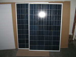 200w 2x 100W Solar Panel Kit Motor Home Camper Van Caravan, Allotment, Stable