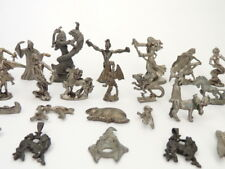 Vintage Antique Art Magic Mystical Pewter Tin Figure/Statue/Figurine Witches