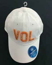 pretty nice 943cb f8903 Tennessee Volunteers White Women Unstructure Adjustable Hat Top of the World  New