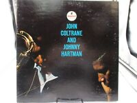 JOHN COLTRANE AND JOHNNY HARTMAN LP IMPULSE A40 Gatefold VG+ c VG+