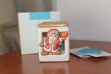 Thun, Babbo Natale, porta candella. Dimensioni  10x8 cm.