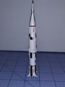 Apollo Saturn V rocket toy rubber Nasa