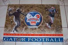 Florida Gators 2006 100 Years Commemorative Poster Rare