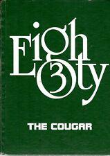 East Side Junior High School Little Rock Arkansas 1983 Cougar Yearbook Annual