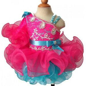 Jenniferwu Infant/toddler/kids/baby/children Girl's Pageant/prom Dress G008-11
