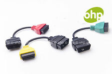 Adapter A1 A2 A3 für Fiat Alfa Romeo Lancia ECU Scan OBD2 Diagnose Stecker