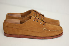 Oak Street Bootmakers Peanut Suede Brick Sole Trail Oxfords - Size 10 D (Y47)