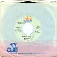 Sammy Davis Jr Song and Dance Man (both sides) promo 20th Century TC2236  45rpm