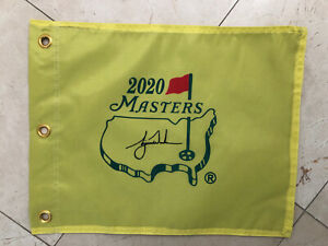 2020 Masters Souvenir Flag w/ Tiger Woods PGA Augusta National