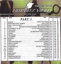 Official ETV DVD Promo Only Cher Shakira Mary J Blige+Ja Rue Brad Paisley+ZZ Top