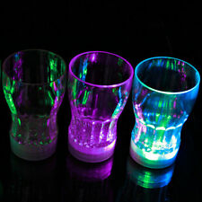 LED Light Up Flashing Beer Mug Drink Cup Wine Glass Plastic Cup Bar Party Club