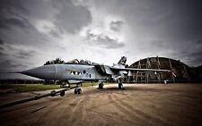 "Royal Air Force Tornado GR4 Fighter Aircraft RAF Marham 12x8"" Photo"