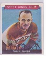 LOW STARTING BID 1933 Sport Kings Reprint #19 EDDIE SHORE Boston Bruins MINT