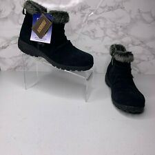 NWOB Khombu Womens Size 7 Black Ski Boots Winter