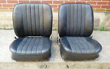 VERY NICE PAIR OF USED ORIGINAL GENUINE PORSCHE 911 912 SWB RECARO BUCKET SEATS