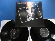 DAVID BOWIE  ZIGGY STARDUST THE MOTION PICTURE RCA German 2xLP VG/EX/EX