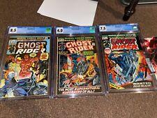 Ultimate Ghost Rider Lot - Marvel Spotlight 5 CGC 4.0 + Ghost Rider 1-81 + More