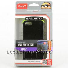 Ballistic iPhone 5 iPhone 5s iPhone SE Aspira Flexible Gel Case Black Lime Green