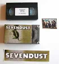 SEVENDUST Promo Lot  VIDEO STICKER TRADING CARD Rare Denial Clip 1999