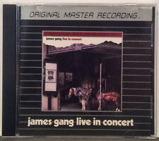 James Gang - Live In Concert  MFSL Silver Disc CD (Remastered)