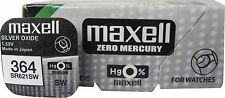 2 x Maxell 364 Silver Oxide SR621SW 621 G1 1.55V  Watch Battery