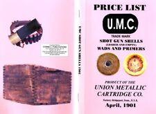 Union Metallic Cartridge Company (UMC) 1901 Ammunition Catalog