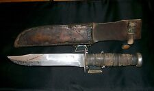 "KABAR USA Knife & USN BOYT 43 Sheath ""WWII 1219C"" 1943 Issue, Used, Carried Rare"