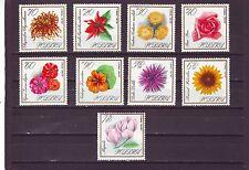 POLAND - SG1675-1683 MNH 1966 FLOWERS