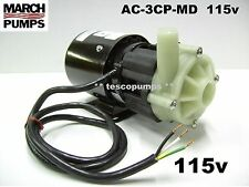 March pump  AC-3CP-MD  115v  500 gph max  Replacement  for Cruisair PMA500