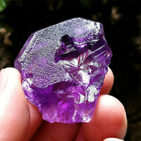 28g RARE Deep Etched Purple Nirvana Quartz Natural Amethyst Interference Quartz