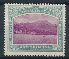 [52812] Dominica 1907 good MH Very Fine stamp (Mult. CA wtmk)