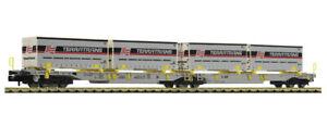 Fleischmann 825011 Tow Truck IN Bi-Fold Articulated T2000, Aae , Scale N 1/160