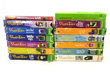 Veggie Tales Lot of 13 VHS + 1 DVD Titles In Description