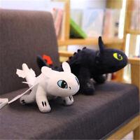 Comment dresser votre dragon 3 Fureur légère Édenté Peluche poupée jouets 35cm