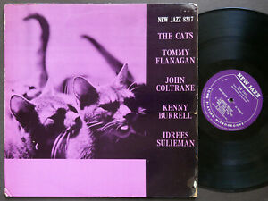 TOMMY FLANAGAN JOHN COLTRANE The Cats LP NEW JAZZ NJLP 8217 US 1959 RVG MONO