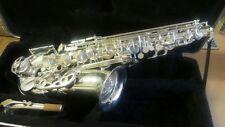 Saxofon alto kobrat nuevo, sin estrenar, lacado dorado, 2 años de garantia