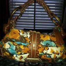Isabella Fiore Floral Sequins Bag