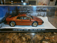 James bond car collection Lotus Esprit Turbo , For Your Eyes Only