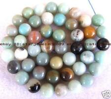8mm Beautiful Amazonite Round Gemstone Beads 15''
