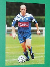PHOTO UNFP FOOT 2000 SEC BASTIA SECB SCB CASANOVA FOOTBALL 1999-2000 PANINI