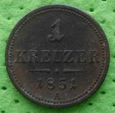 Österreich 1 KREUZER 1851 A