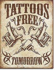 Tatouages libre demain Métal Signe (De)