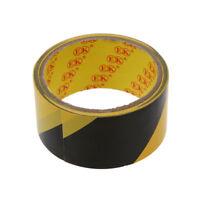 32.8Ft 10 Meter Schwarz Gelb Boden Klebstoff Sicherheit Absperrband M6W7