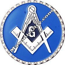 A-306 Masonic Auto Emblem FreeMasonry Car Lodge Mason Freemason PHA AF&AM F&AM