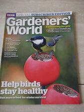 January Home & Garden Gardeners' World Magazines